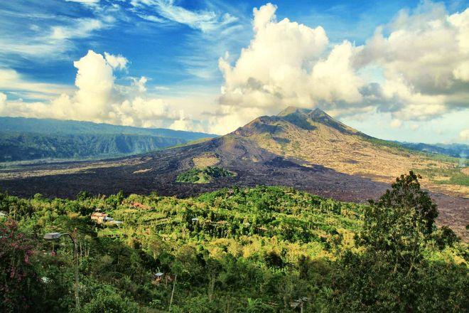 Вулкан Гунунг-Батур, Бали