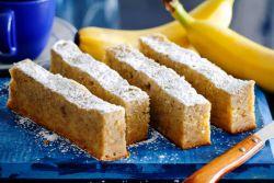 ciasto bananowo-twarogowe w wielu odmianach