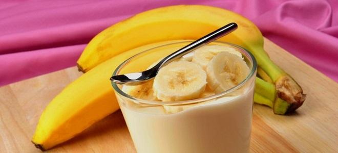 Крем са бананом и кондензованим млеком