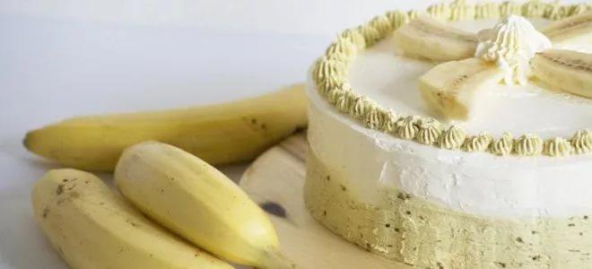 Smetana kremna banana za torto