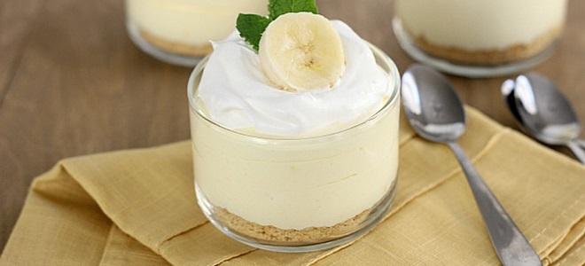 Банана крема са желатином