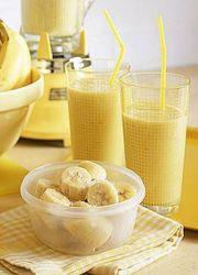 Бананово молочная диета