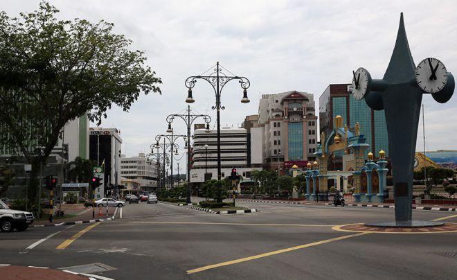 Бандар-Сери-Бегаван - улицы города