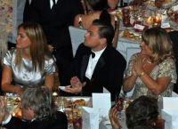 Бар Рафаэли и Леонардо Ди Каприо на вечеринке