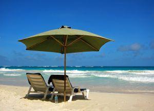 Пляж Крейн. Уютное местечко с видом на море