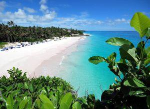 Пляж Крейн. Лазурное море, песчаный берег