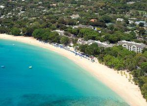 Пляж Сэнди Лайн с высоты птичьего полета