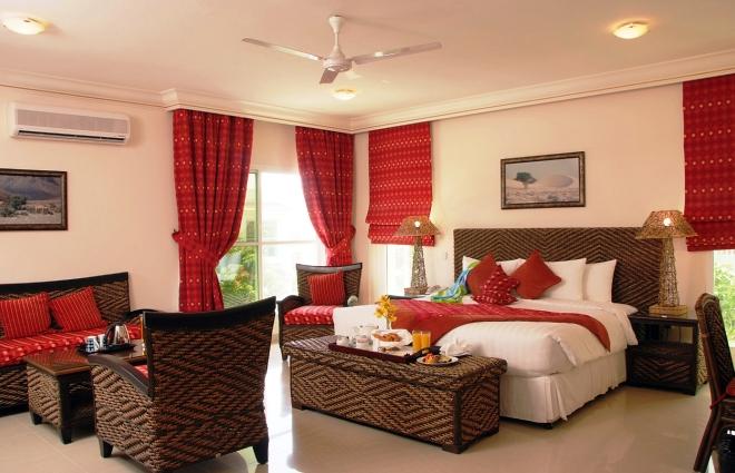 Номер в отеле Al Nahda Resort & Spa Barka