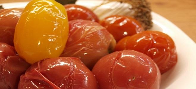 Paradižnik v cevi - babaushkin recept