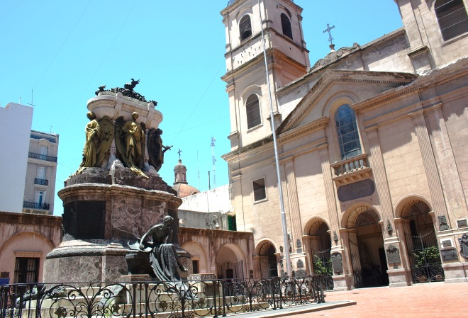 Мавзолей у стен базилики