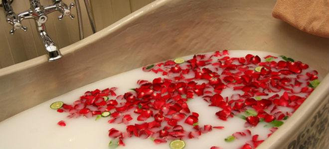 kąpiel z olejkami aromatycznymi do odchudzania