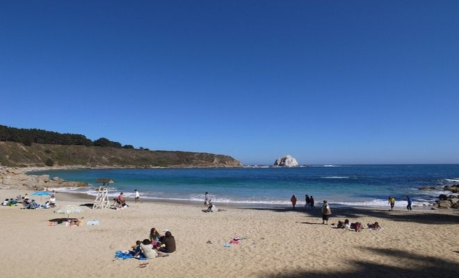 Пляж Альгарробо