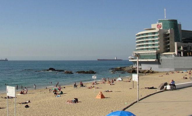 Городской пляж Вальпараисо