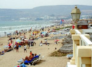 Городской пляж Агадира
