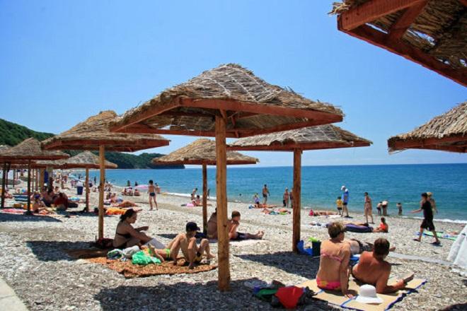 Обустроенные пляжи