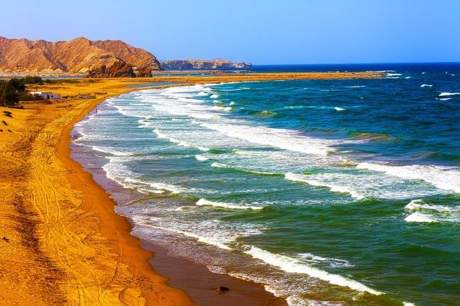 Один из пляжей Маската