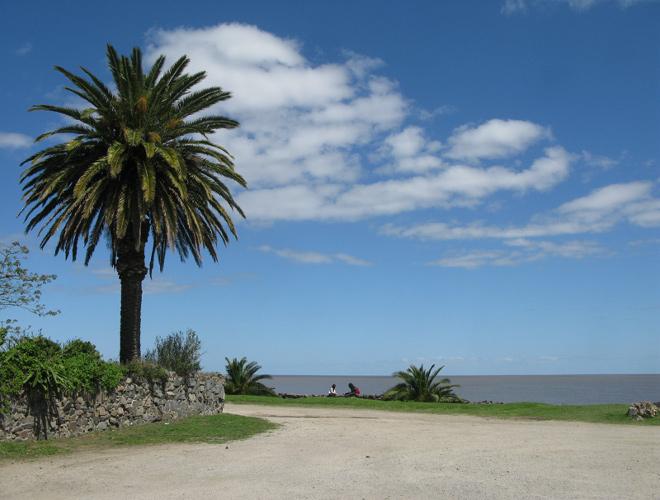 Пляж в Колония-дель-Сакраменто