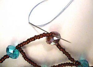Zrób to sam naszyjnik necklace64