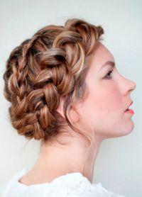плетеница за дугу косу 1