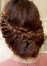 плетеница за дугу косу 3