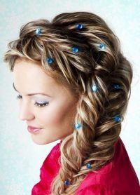 плетеница за дугу косу 4