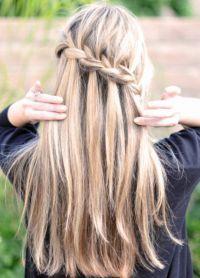 плетеница за дугу косу 8