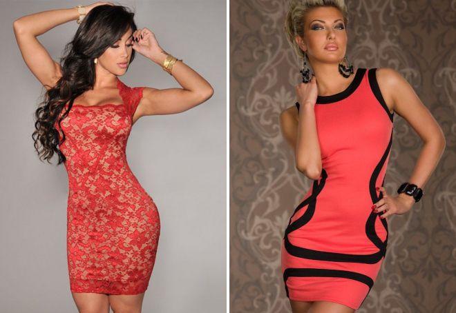 красивые сексуальные платья