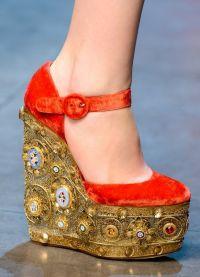 Piękne wysokie buty na obcasie 1
