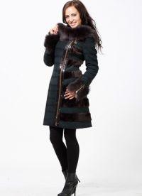 krásné kabáty z ovčí kůže 1