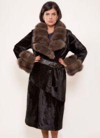 krásné kabáty z ovčí kůže 2