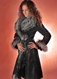 krásné kabáty z ovčí kůže 4