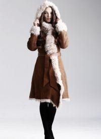 krásné kabáty z ovčí kůže 8