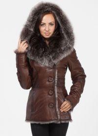 krásné kabáty z ovčí kůže 9