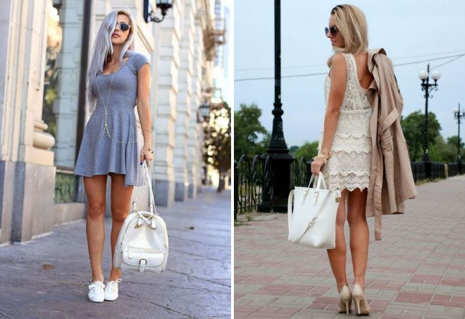 модные короткие платья