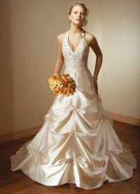 sukienki beżowe 1