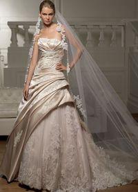 sukienki beżowe 2
