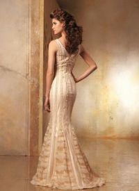 sukienki beżowe 4