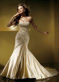 sukienki beżowe 5
