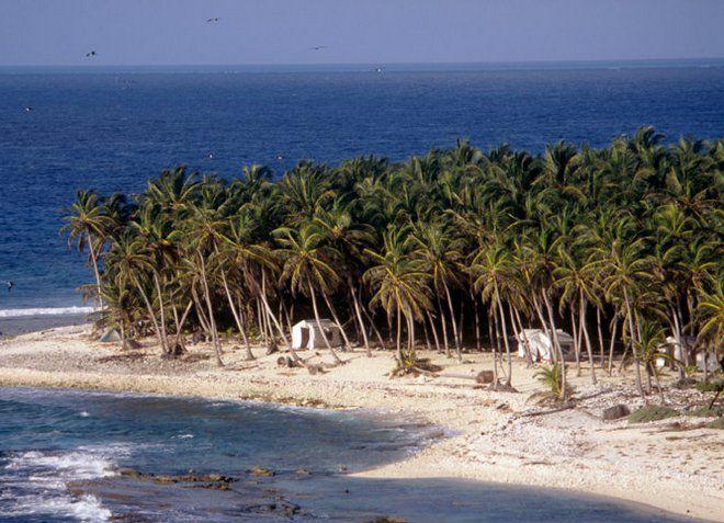 Остров Лайтхаус Риф с одним из лучших пляжей Белиза