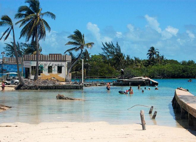 Сплит - один из самых популярных пляжей в Белизе