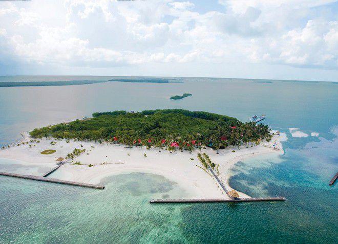 Островной пляж Turneffe Island Resort