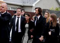 Джим Керри с родителями погибшей Кэтрионы Уайт
