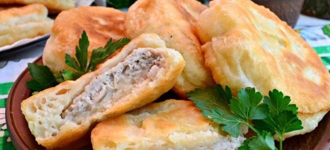 recept leni belyash z mesom na kefir
