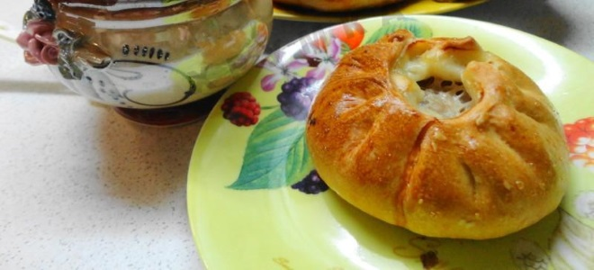 recept za belaya z mesom v peči
