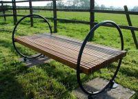 Dřevěné lavice9