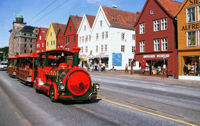 Туристический поезд Bergens-Expressen