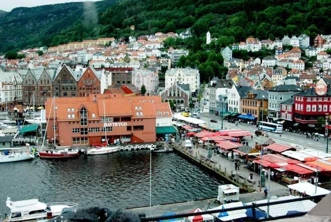 Порт города