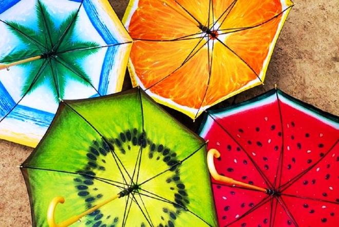 Зонтики - символ Бергена