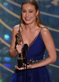 Бри Ларсон стала лучшей актрисой на Оскаре-2016