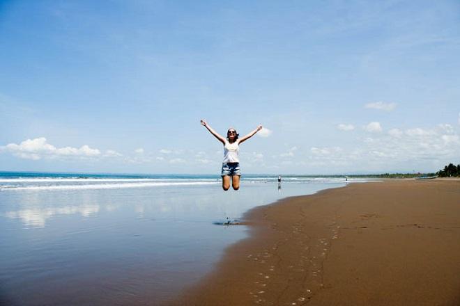 Пляж на острове Ява